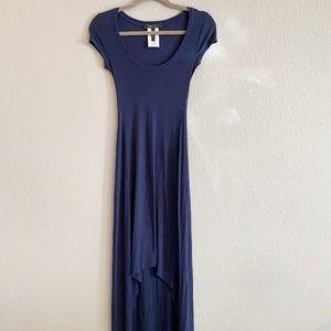 BCBGMaxAzria Blue High-Low Dress